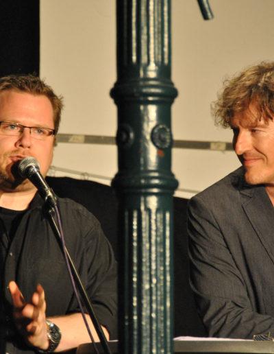 Imre Grimm und Uwe Janssen